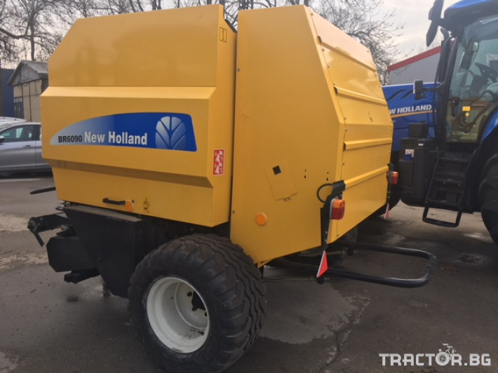 Сламопреси New-Holland BR6090 1 - Трактор БГ