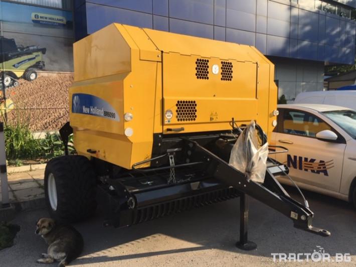 Сламопреси New-Holland BR6090 2 - Трактор БГ