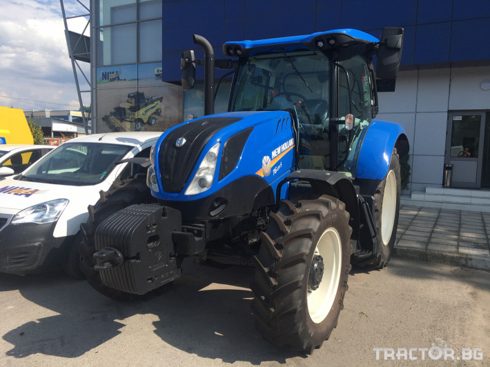 Трактори New-Holland T6.125 0 - Трактор БГ