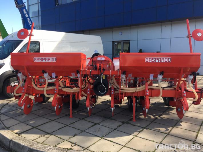 Сеялки Gaspardo МТ 6 и SP 6 0 - Трактор БГ